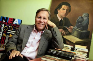 LOS ANGELES, CA - OCTOBER 15, 2012 - Dana Gioia, Judge Widney Professor of Poetry and Public Culture at USC, October 15, 2012. Gioia is one of the members of the selection committee, who are choosing Los Angeles' first Poet Laureate. The nomination will be later this week.<br /> (Photo by Ricardo DeAratanha/Los Angeles Times).